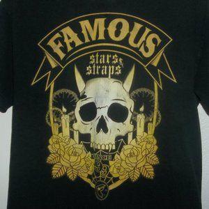 Famous Stars And Straps skull shirt